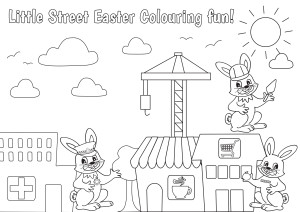 Easter Colouring Sheet 2016