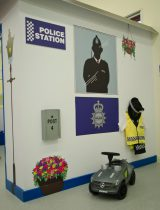 Police station, play police station, Little Street, Little Street Play Centre, Play Centre, Children Play Centre, UK play centre, children, childrens entertainment